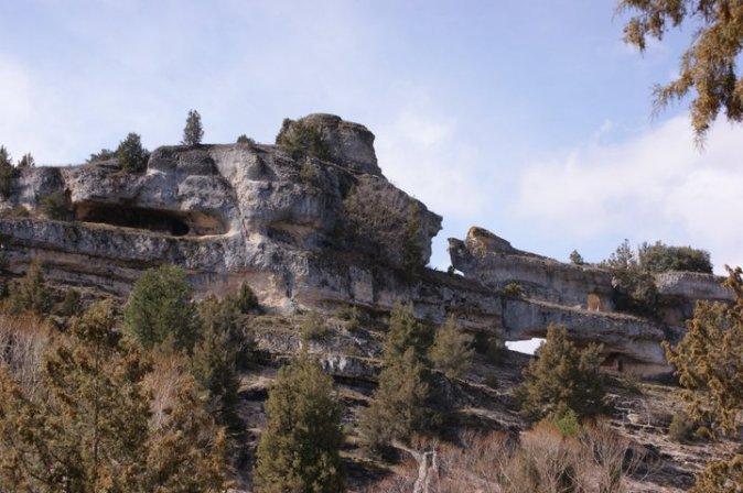 Caprichosas formas debido a la erosión kárstica de miles de años.
