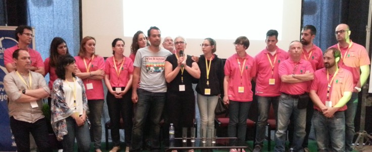 Equipo del #TBMPlasencia. Gracias por todo chicos