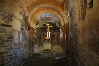 Altar de Sant Romà de Les Bons