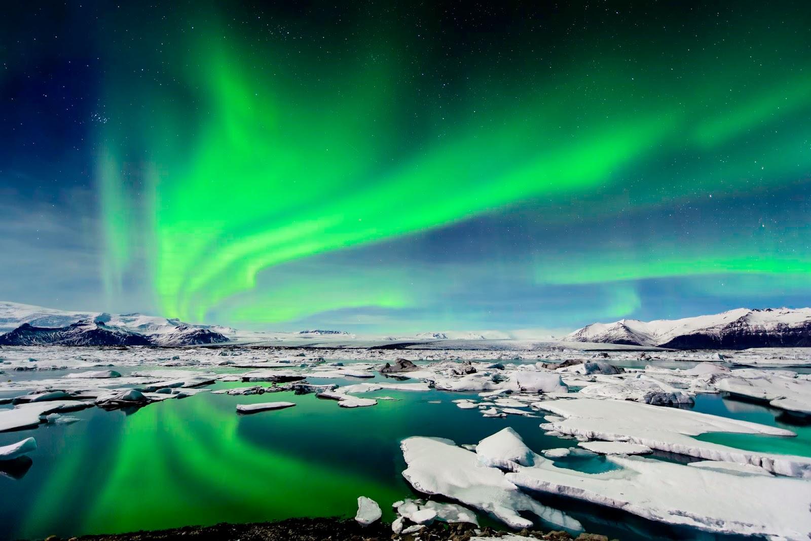 Resultado de imagen de AURORAS BOREALES ISLANDIA